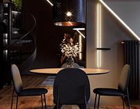 Дизайн интерьера квартиры 142 м кв в г. Санкт-Петербург