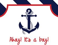 Ahoy! It's a boy!