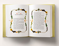 Book Page Design: Alice in Wonderland