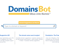 DomainsBot web design