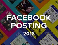 Facebook Postings 2016