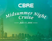 Korea CBRE Cruise Dinner Party