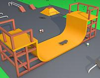Skateboard Area Animation