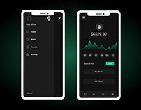 Enjoy Free ICO App Mockup's