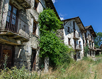Arreu (Alt Aneu), un village abandonné