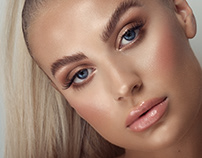 Beauty Retouching Before/After