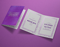 Photorealistic Invitation & Greeting Card Mockup