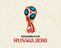2018 FIFA WORLD CUP RUSSIA Wall Chart