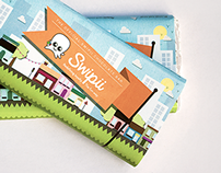 Chocolate Bar Packaging: Swipii Card Merchandise