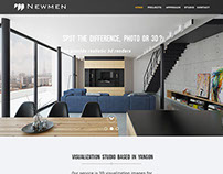 Newmen visualization website