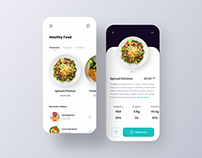 App Design - Dribbble Collection