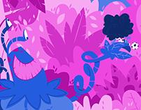 The Jungle Monster - children's book