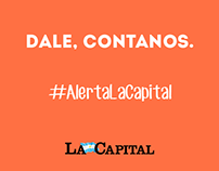 La Capital - #AlertaLaCapital gif animados