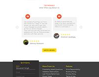 LetMeDrive - Landing page