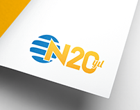 NTV's 20th YEAR | SPECIAL CELEBRATION LOGO DESIGN