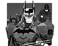 BATMAN Black & White series