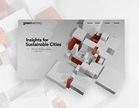 UI - Greenventory landing page and SaaS