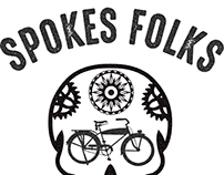 The Spokes Folks Bike Share Company Logo and App