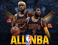 LeBron & Kyrie All-NBA