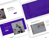 Innovative Design PSD+HTML5 Landing Page theme