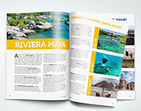 Diagramação | Guia turístico México