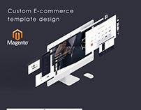 Custom E-commerce template design