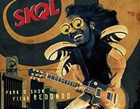 Fake - Skol lolla poster