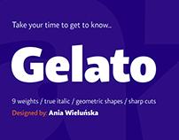 Gelato Sans