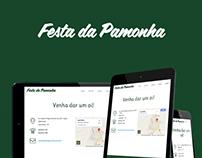 Festa da Pamonha Responsive Website