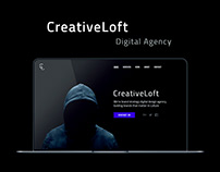 CreativeLoft. Design for Digital Agency.