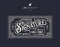 GIN BOOKLET - JW MARRIOTT, PUNE