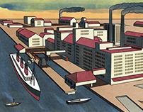Virginia Woolf - London by Land, Air & Sea