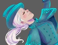 Fleur Delacour redesing Character design Challenge