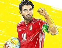 Karim Ansarifard (IRAN in World Cup)