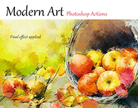 Modern Art - Photoshop Actions