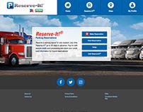 Concept for website application