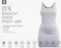 Bodycon Dress Mock-up