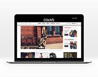 Colin's - eCommerce Design