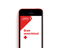 Vodafone | Draw Some Blood