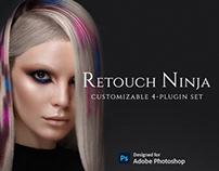 Retouch Ninja Customizable 4-Plugin Set