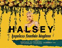 Halsey HFK Tour Admat/Flyer