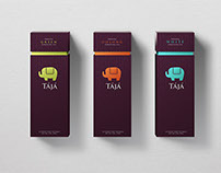 TÁJÁ tea packaging