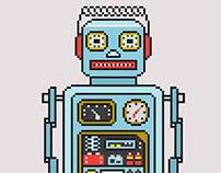 Pixel-Art : ROBOBIT