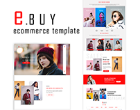 e Commerce Template UI/UX