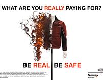 Anti Counterfeit Ad - Dupont/Nomex