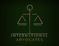 International Advocates - Logo Proposal for Law Company