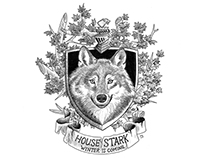 Game of Thrones Illustrated Sigils