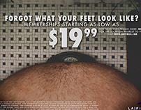 La Fitness Ad