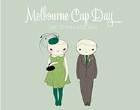 Melbourne Cup Illustrations