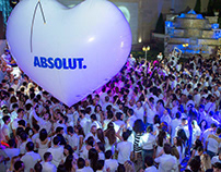 Absolut White Party 2015